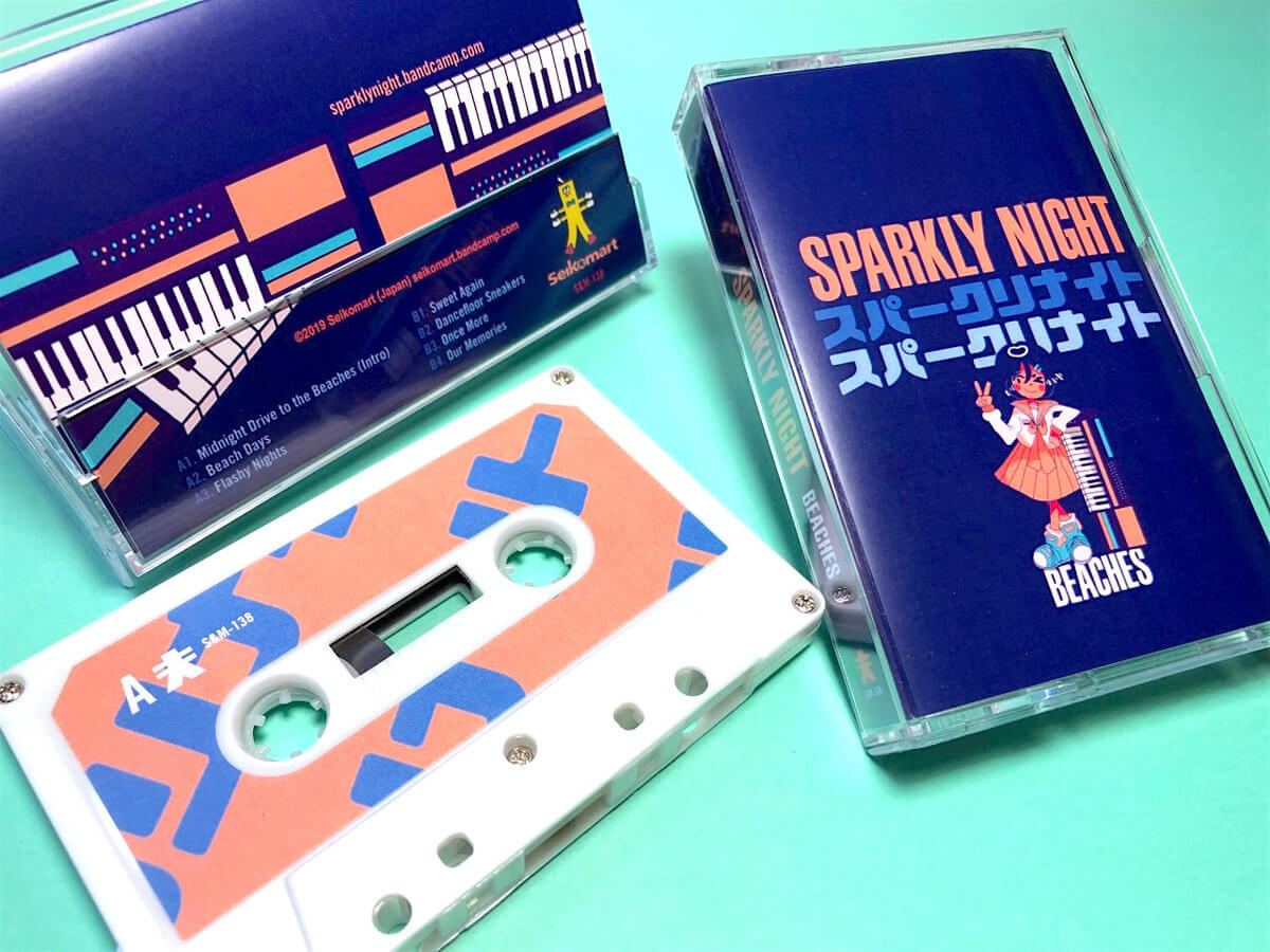 Sparkly Night Beaches Cassette