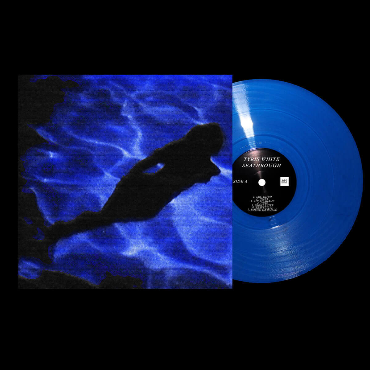 TYRIS WHITE – SEATHROUGH (Vinyl & Cassette)