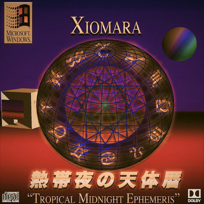 TROPICAL MIDNIGHT EPHEMERIS 熱帯夜真夜中の天体暦 by Xiomara