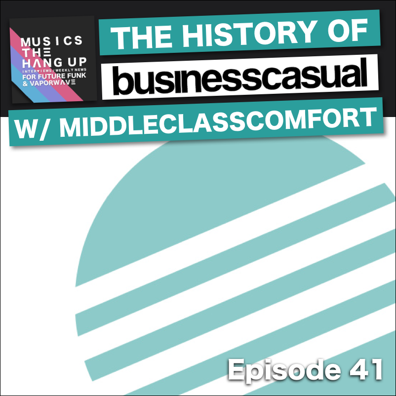 history of business casual vaporwave label
