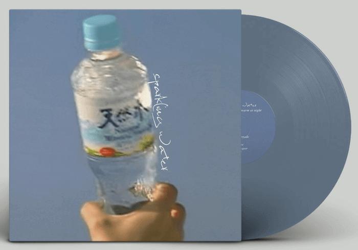 desert sand feels warm at night – sparkling water (vinyl)