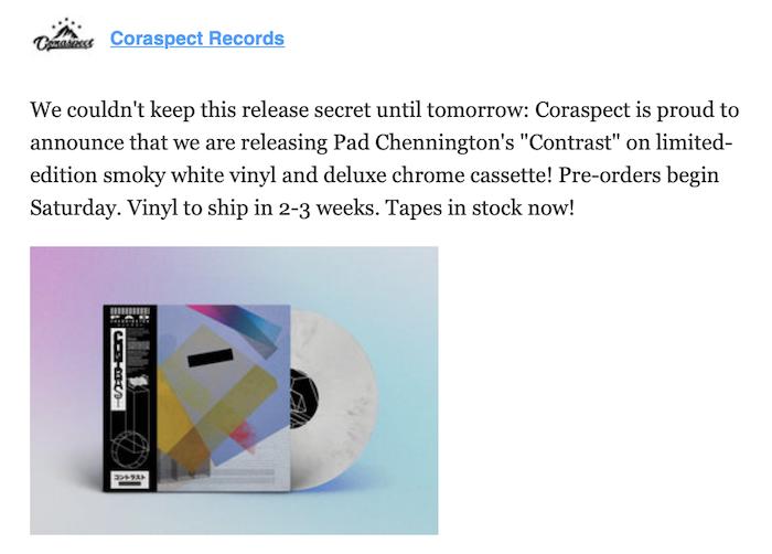 """New cassette from """"desert sand feels warm at night"""" 3"""