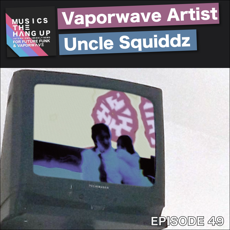Uncle Squiddz - a vaporwave artist who uses analog synths (interview) 3