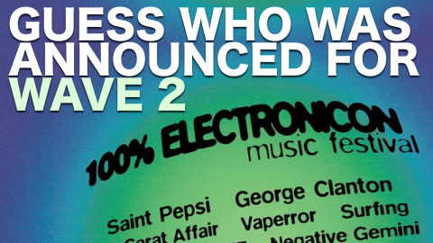 Wave 2 of 100% Electronicon Announced! 3