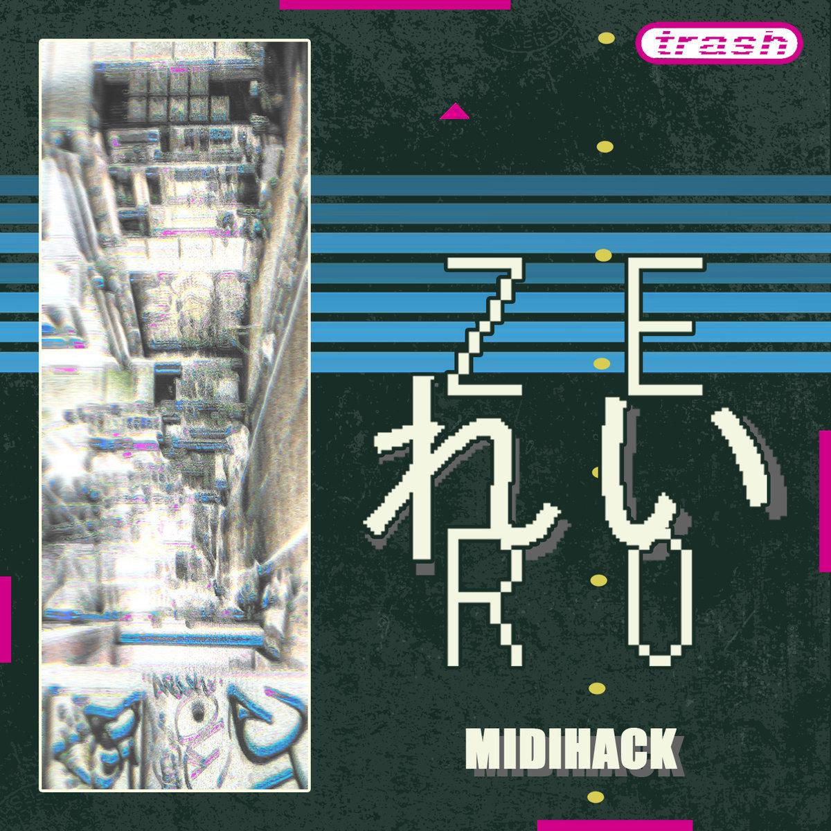 MIDIHACK by Zer0 れい (CD) 1