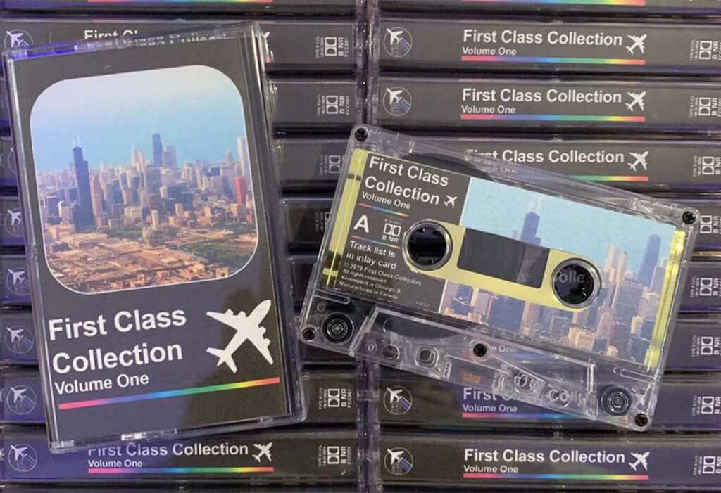 First Class Collection releases their first cassette (live now) 1