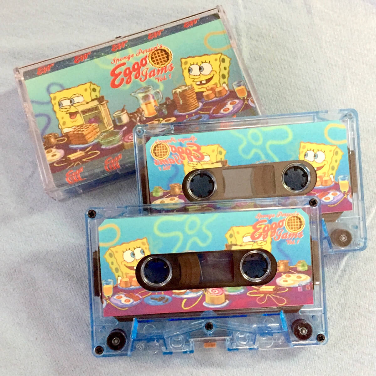 EGGO JAMS by Sponge Person (limited Swimming Pool Blue cassette) 1