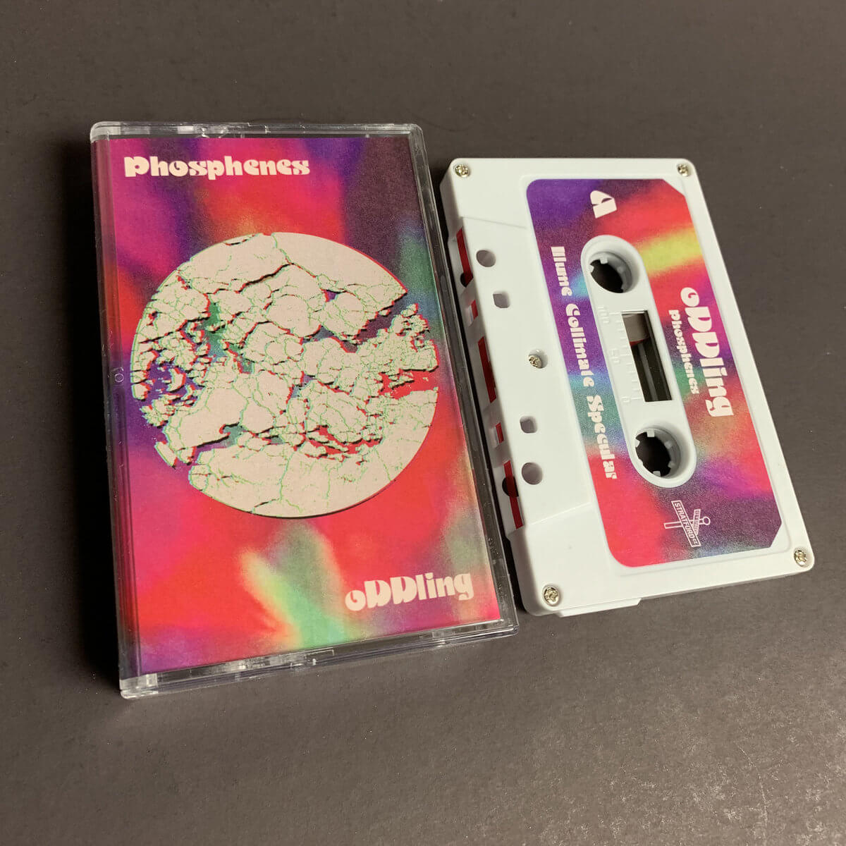 oDDling - Phosphenes (Limited Edition Cassette) by oDDling (Limited Edition Cassette) 1