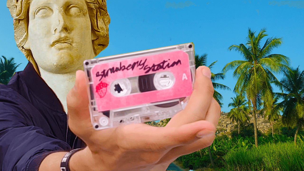 SPENDING $100 ON VAPORWAVE CASSETTES! (RARE IN SIDE) 2