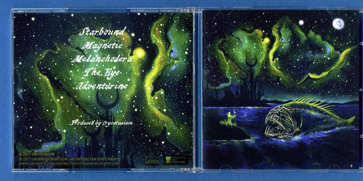 Starbound by Cryostasium (Limited Edition Vinyl Style Compact Disc) 1