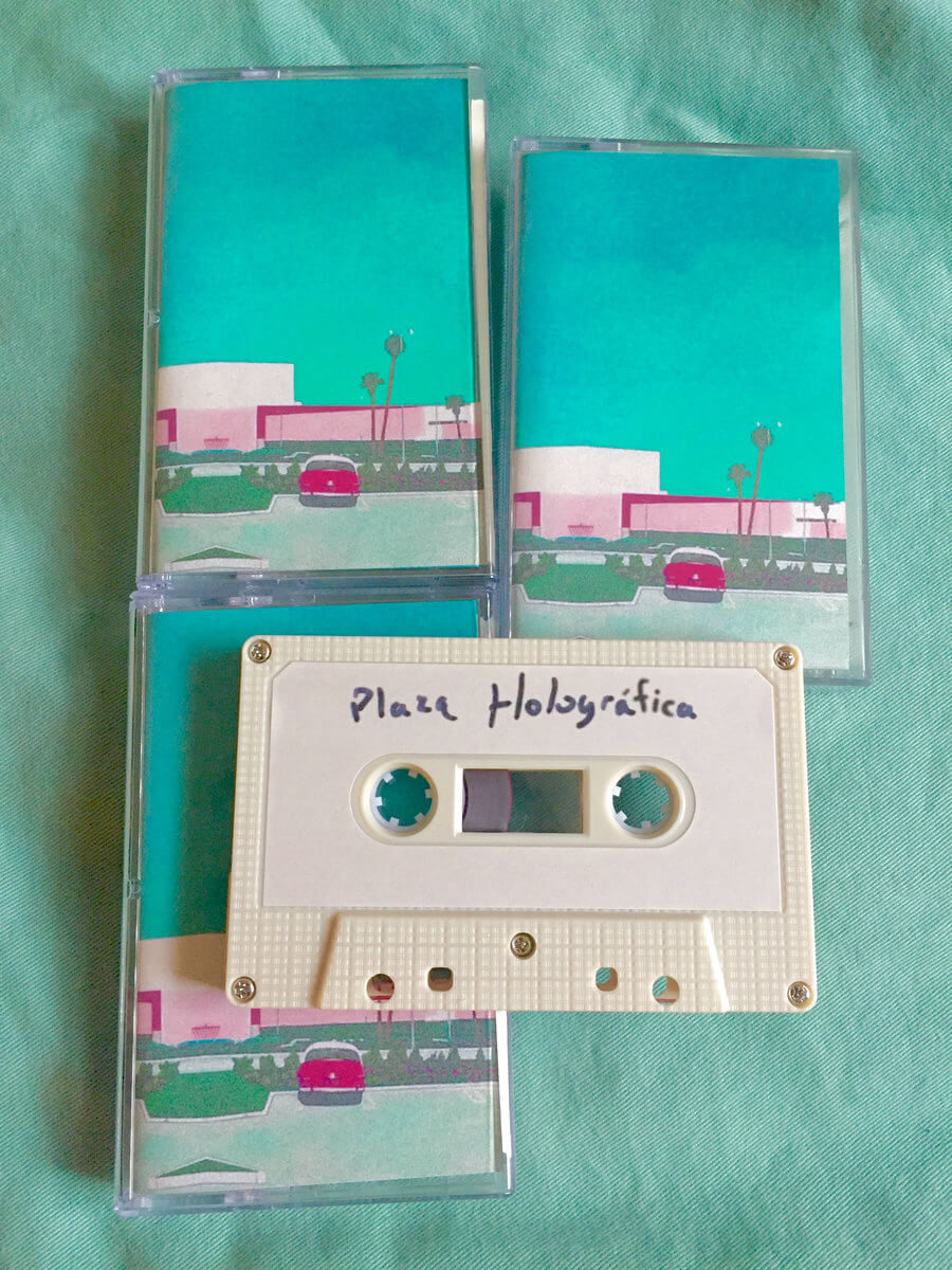 Plaza Holográfica by power_lunch corporation (limited edition cassette) 1