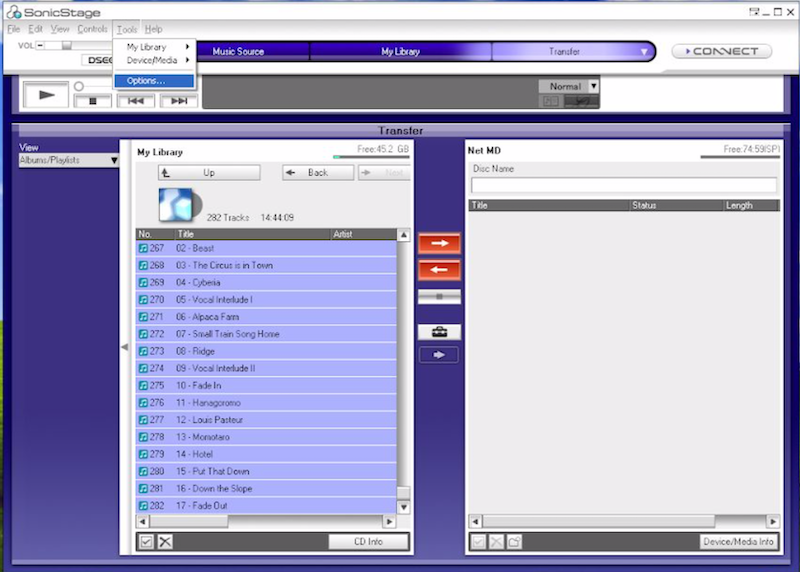 Tutorial: How to transfer MP3 to MiniDisc 12