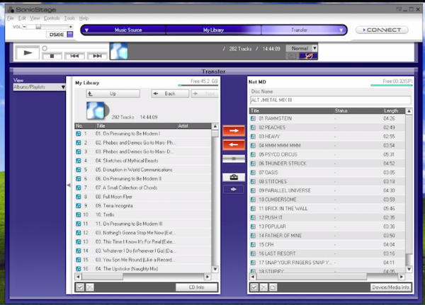 Tutorial: How to transfer MP3 to MiniDisc 8