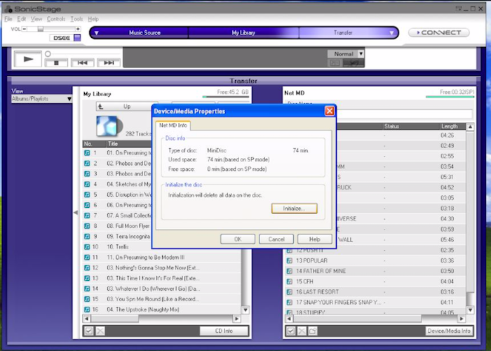 Tutorial: How to transfer MP3 to MiniDisc 9