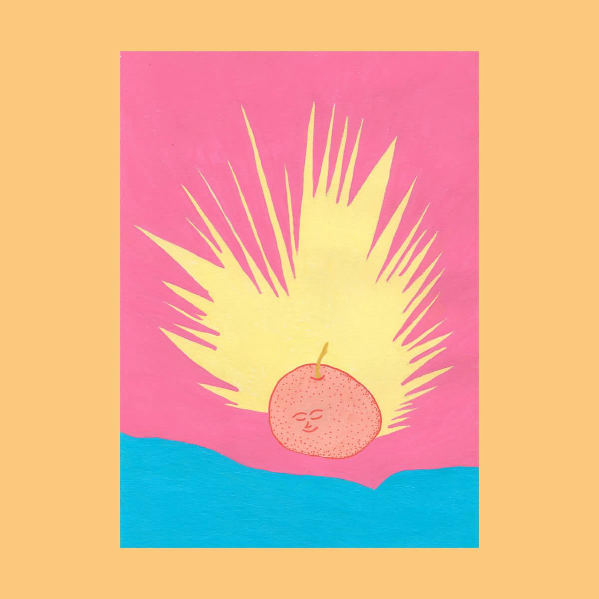 PEACH008LP - Tangerine by Shanti Celeste (Double Vinyl LP) 1