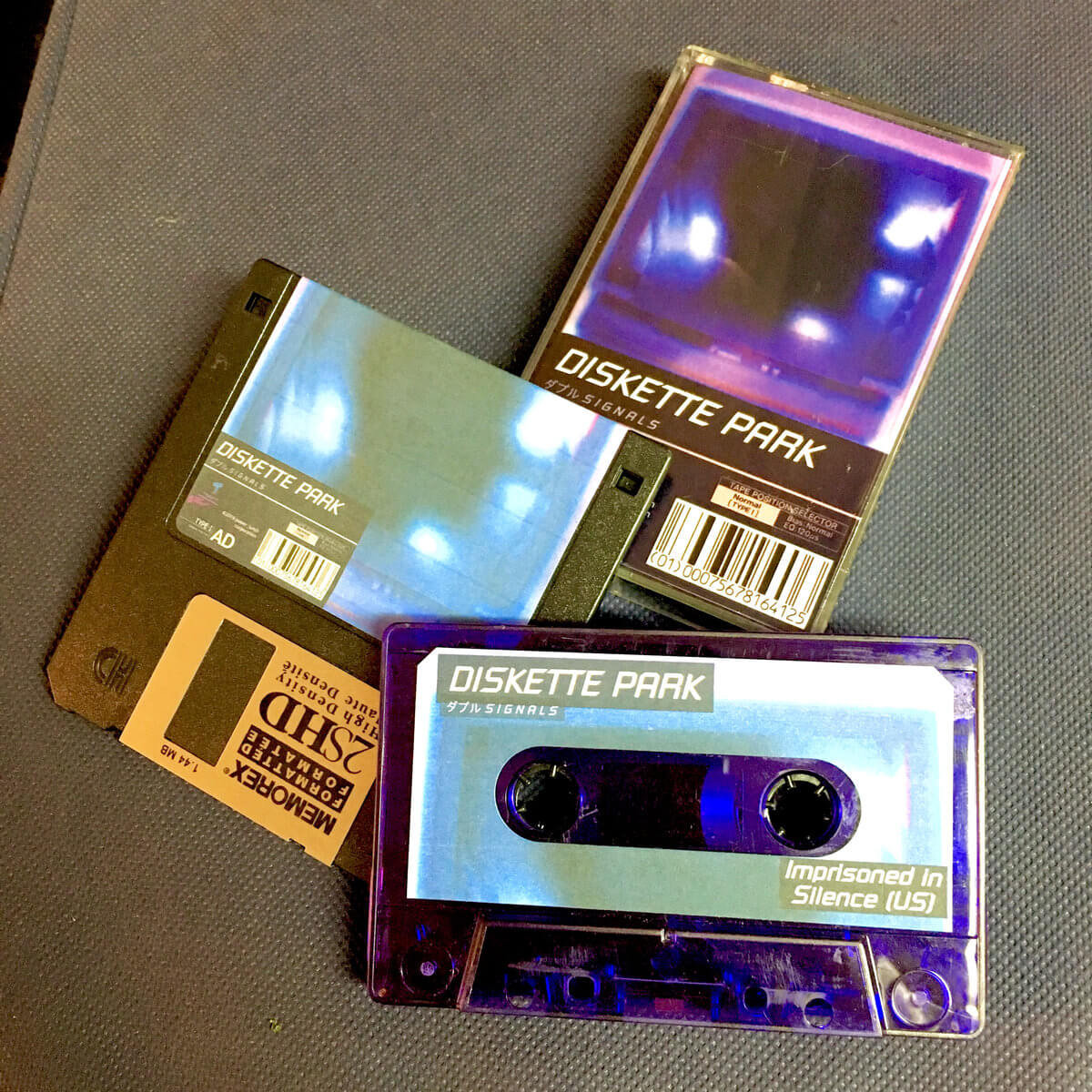ダブル SIGNALS by Diskette Park (MONGO edition cassette/floppy bundle) 1
