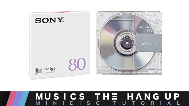 Tutorial: How to transfer MP3 to MiniDisc