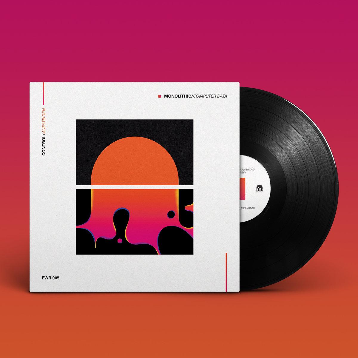 """Control / Aufsteigen by Eye Witness Records (Control / Aufsteigen 12"""" Limited Black Vinyl *PRE-ORDER*) 1"""