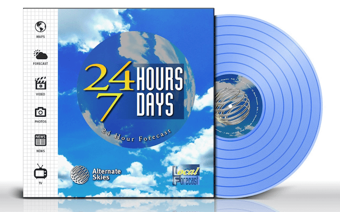24 Hour Forecast by Alternate Skies (Album Review) - vinyl Pre-order 2