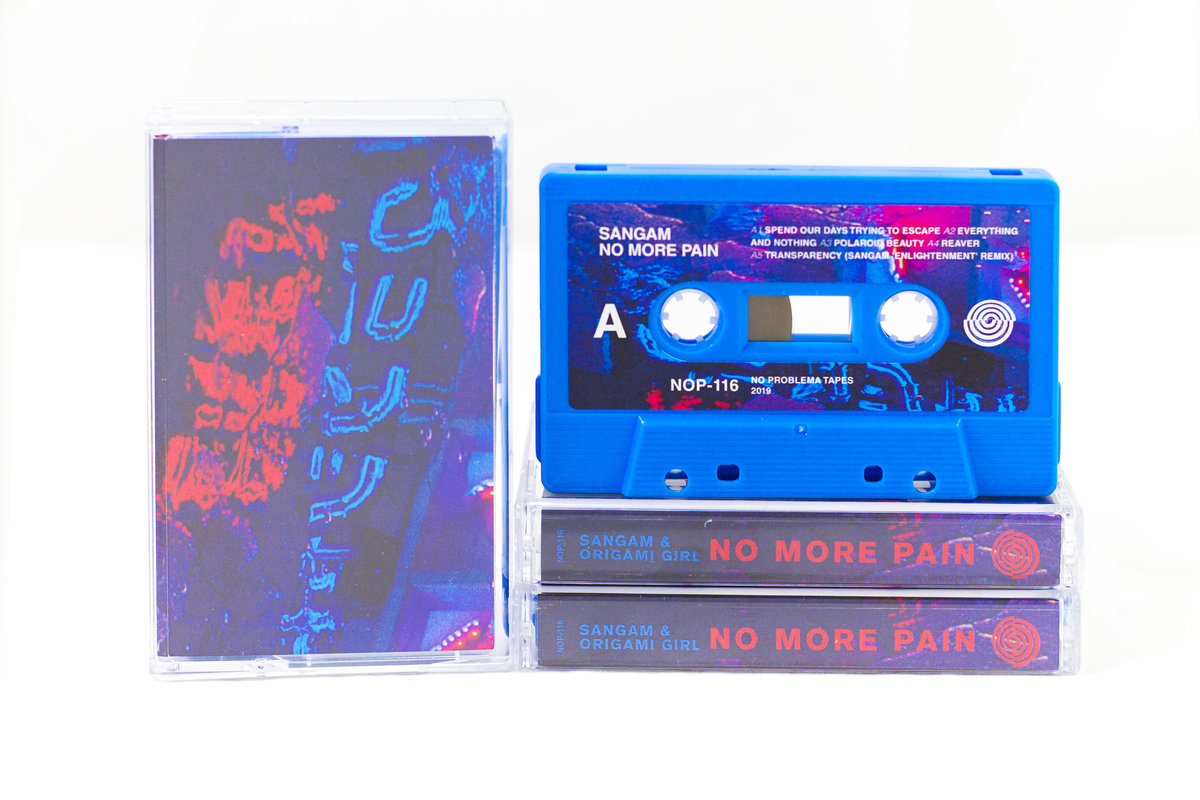 No More Pain by Sangam & Origami Girl (Cassette) 11