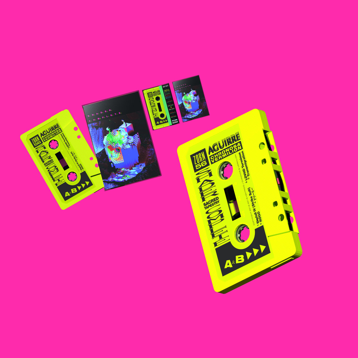 Shader Complete by Sacred Tapestry (Cassette) 12