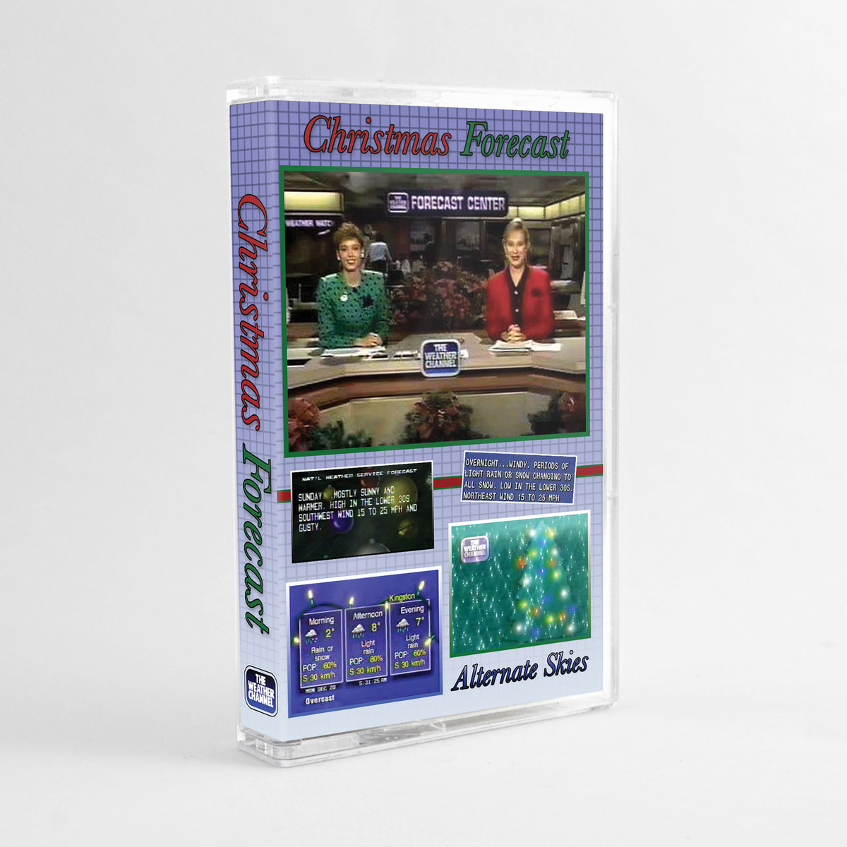 Christmas Forecast by Alternate Skies (Cassette) 4