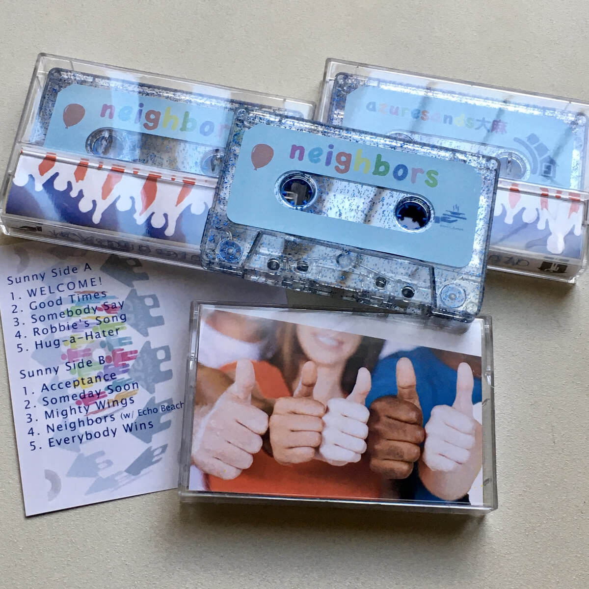 Neighbors by Azuresands大麻 (Cassette) 12