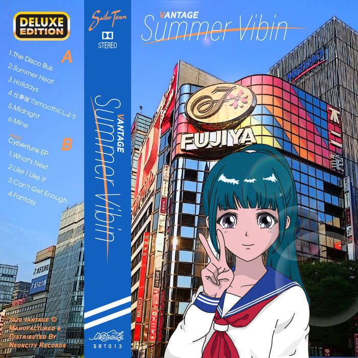 Summer Vibin (Deluxe Edition) by Vantage (Cassette) 8