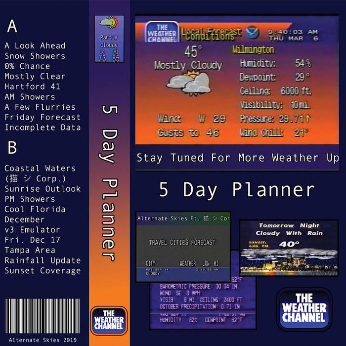 5 Day Planner by Alternate Skies (Cassette) 2