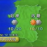 長いなくなっている日 by 気象庁の予報 (Digital) 2