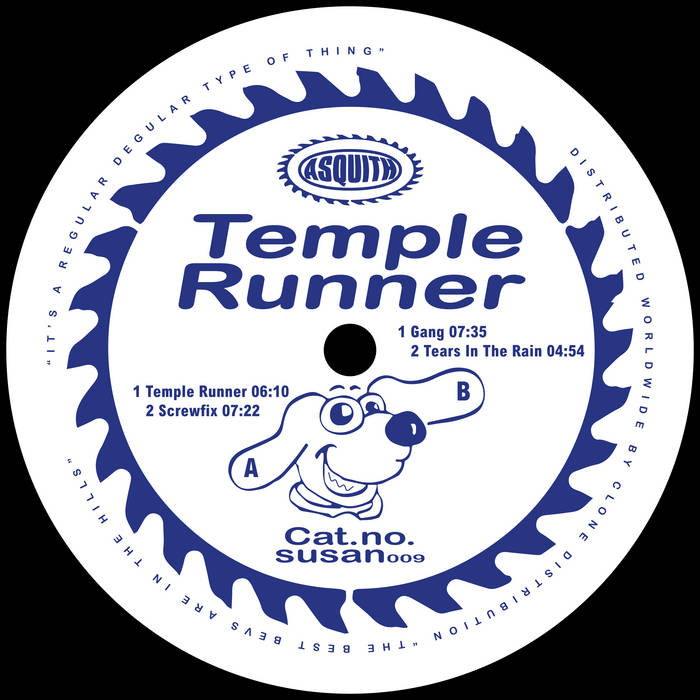 Asquith - Temple Runner by Asquith (Vinyl) 1
