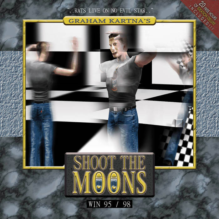 Shoot The Moons by Graham Kartna (Cassette) 8