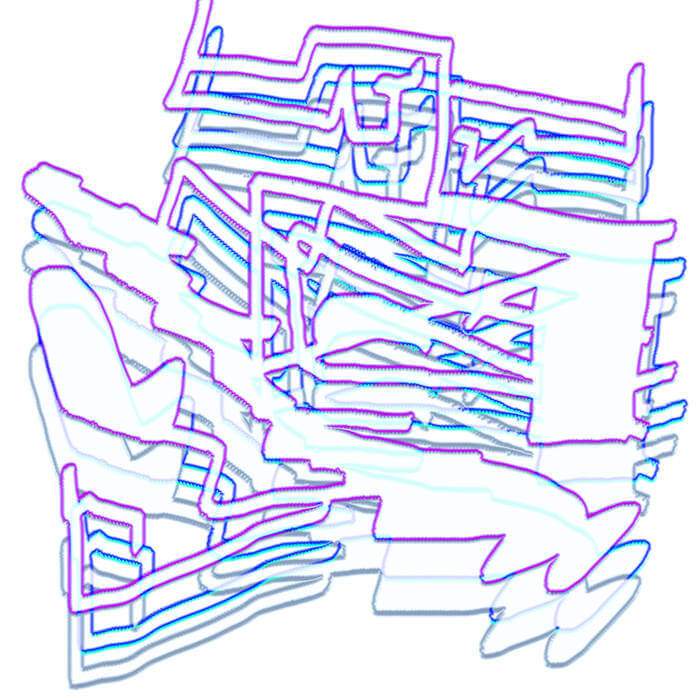 Multimillion Fractions and Pseudo-Geographies of a Ruined Landscape by C.M.Y.K (Digital) 4