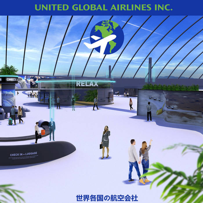 United Global Airlines Inc. by from tokyo to honolulu (Digital) 10