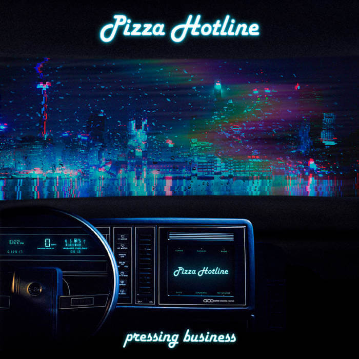 Pressing Business by Pizza Hotline (Cassette) 12
