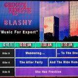 Music For Export by Blashy & Groove Remote (Cassette) 1