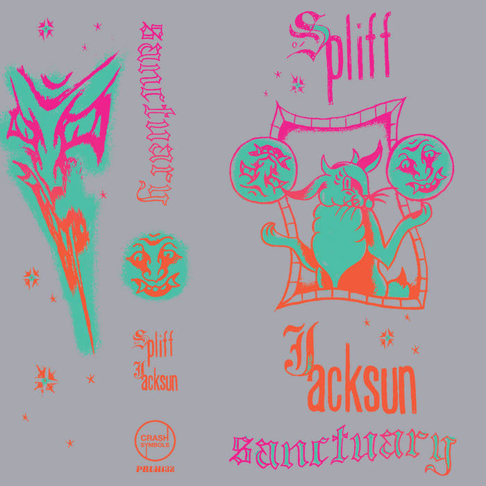 Sanctuary by Spliff Jacksun (Cassette) 1