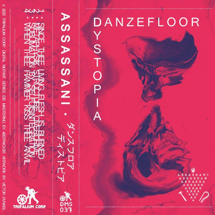 DMS037 - Assassani - Danzefloor Dystopia by Assassani (Cassette) 12