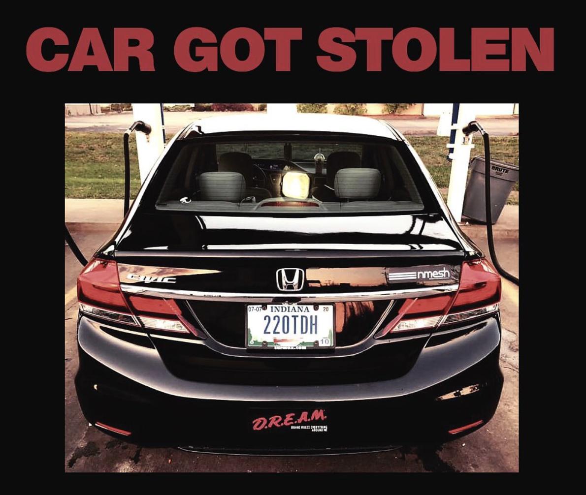 Help Nmesh Find his stolen car!