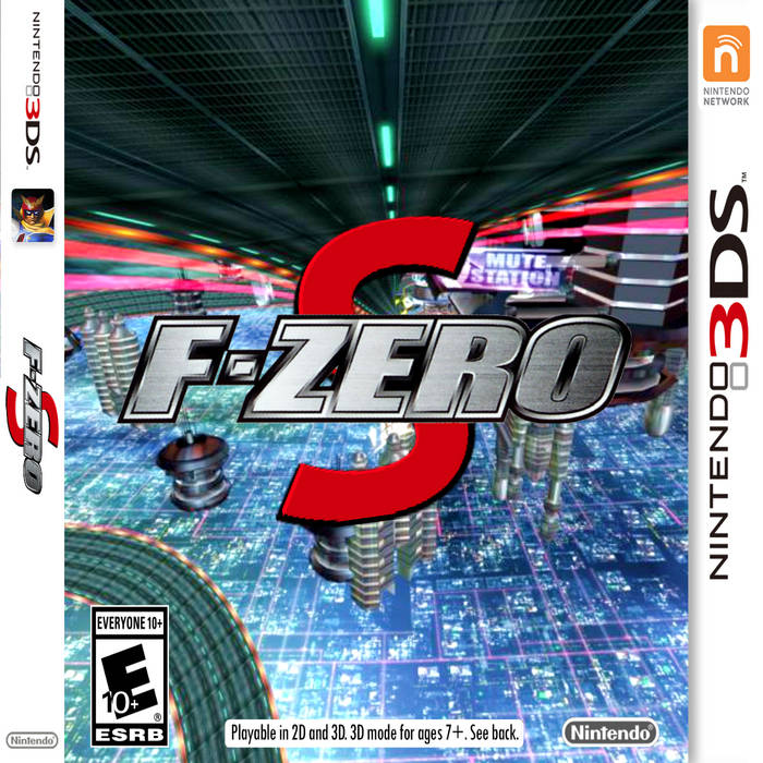F​-​ZERO S by PlayStation platinum (Digital) 4