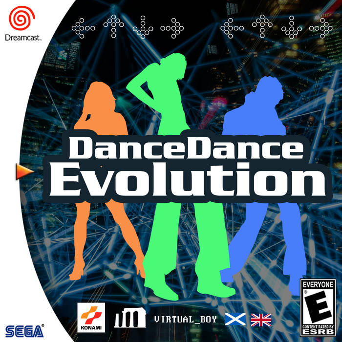 Dance Dance Evolution by v i r t u a l _ b o y (CD) 2