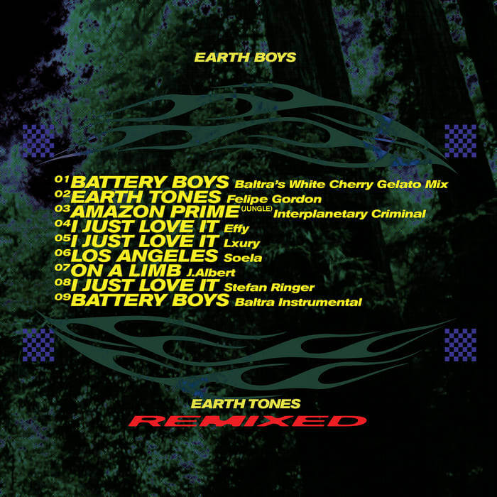 Earth Tones (Remixes) LP by Various Artists (Physical) 4