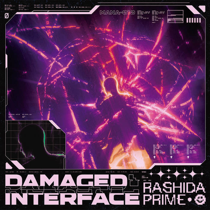 Damaged Interface by Rashida Prime (Vinyl) 5
