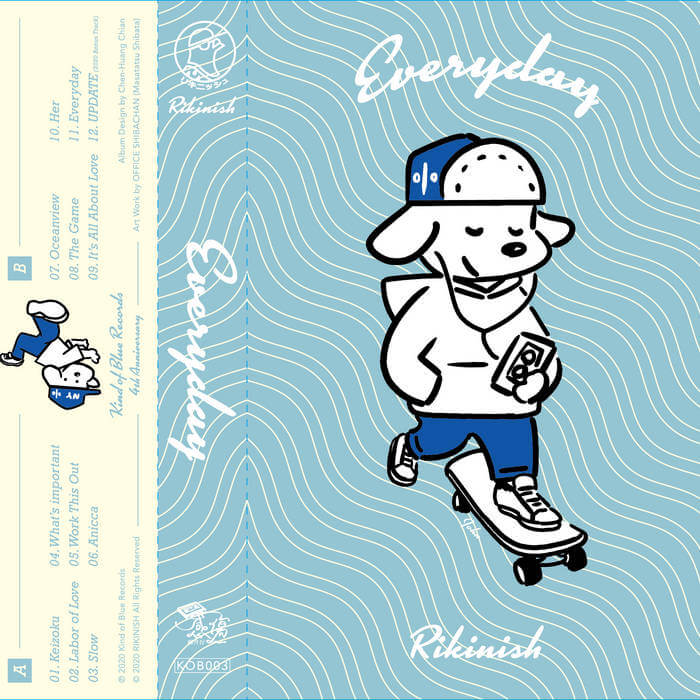 Everyday (Kind of Blue Records 4th Anniversary Limited Edition ) by  Rikinish (Cassette) 1