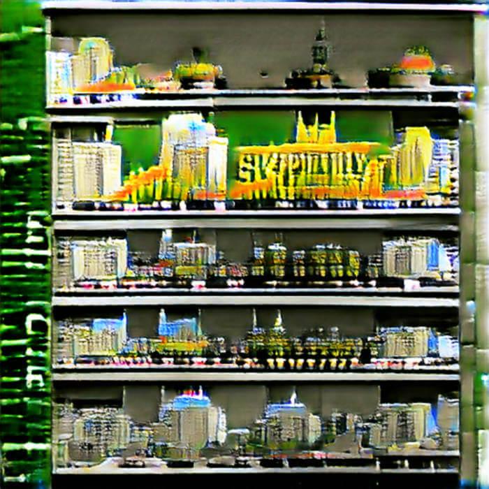 Cities on Shelves // DMT-996 - Eternal Supermarket Stock (Digital) 1